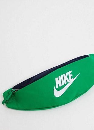 Сумка на пояс на плече бананка nike heritage bum bag барсетка оригінал