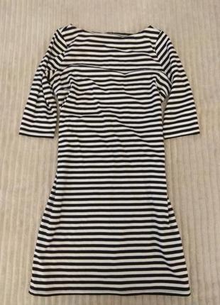 Тельняшка платье