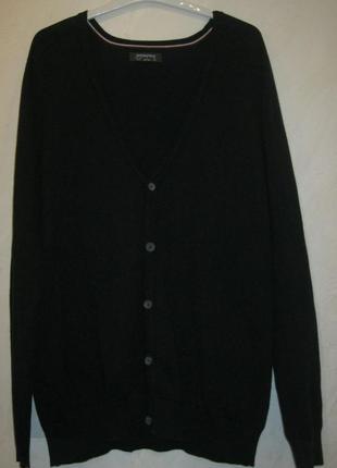 Брендовий светр-кардиган чоловічий springfield xl-xxl [іспанія] (свитер мужской)