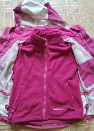Мембранна куртка з флісовою підкладкою mountainlife