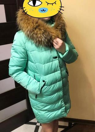 Пуховик куртка пальто жіноче