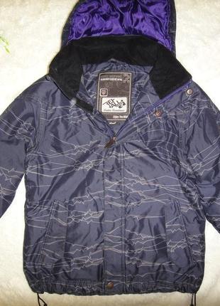 Зимняя теплая куртка rehall  р.42-44 (s)