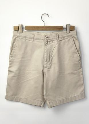 Шорты farah hawk chino twill shorts pebble
