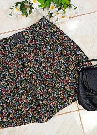 Красивая стильная брендовая плотная юбка atmosphere этикетка