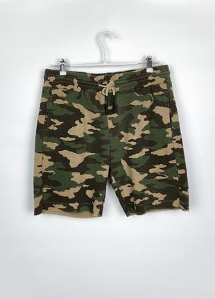 Камуфляжные шорты cropp town camouflage sweatshorts