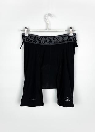 Велосипедные шорты(велосипедки) nike acg echelon padded bike shorts