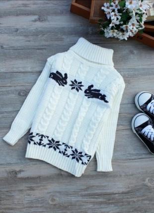 Теплые свитерки для деток (в описании две цены