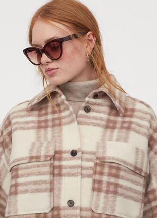 Пальто h&m шерсть, текущая коллекция, 2 цвета, новое с бирками