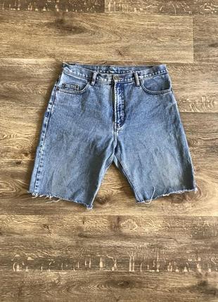 Джинсовые шорты как levi's