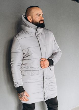 Мужская зимняя тёплая куртка