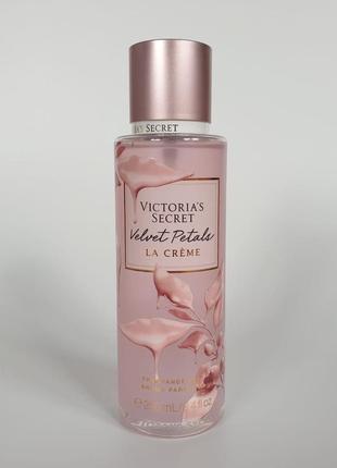 Мист/спрей для тела velvet petals la crème victoria´s secret 🔥акция!🔥 получи скидку 7%