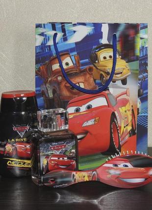 Disney cars детский подарочный набор
