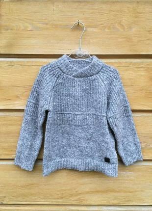 Свитер zara,серый свитер, кофта ,свитшот