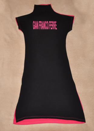 Трикотажное платье gianfranco ferre