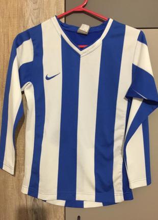 Реглан nike футбол на 8-10 лет(128-140 см)