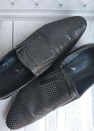Туфли, черные. mida. 41 (42,43) размер. 27,5см.