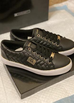 Черные кеды, мокасины guess оригинал, кроссовки