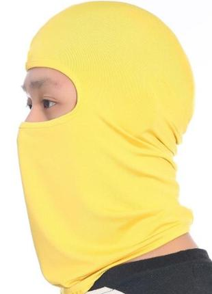 Підшоломник жовтий, подшлемник, балаклава