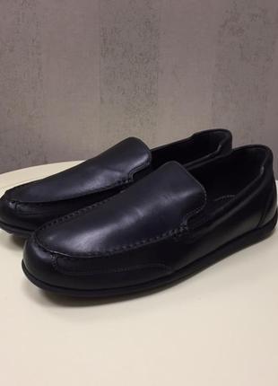 Мужские туфли мокасины rockport, размер 43, новые.