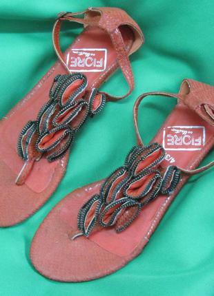 Босоножки сандалии fiore collection размер 37