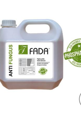 Засіб миючий для видалення плісняви фада анти пліснява (™fada anti fungus), 3 л