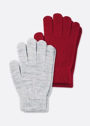 Много всего!!! перчатки c&a, комплект перчаток