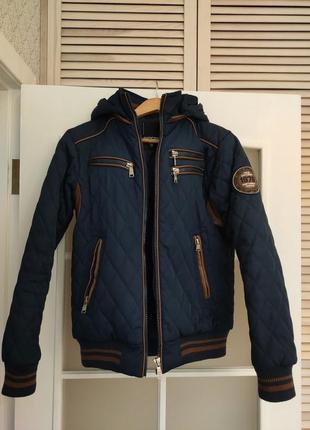 Куртка демисезонная теплая
