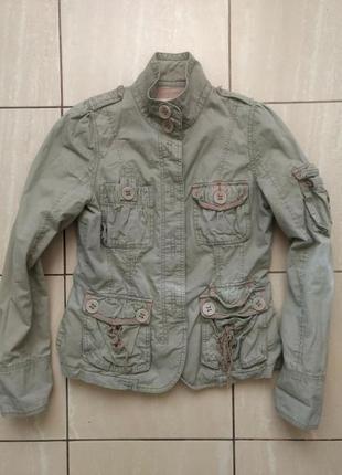 Куртка next на флісі 36р.