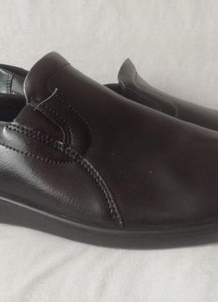 Romika кожаные тапочки мокасины р. 46