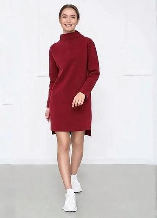 Акция! женское теплое платье на флисе. цена всего - 399 грн!