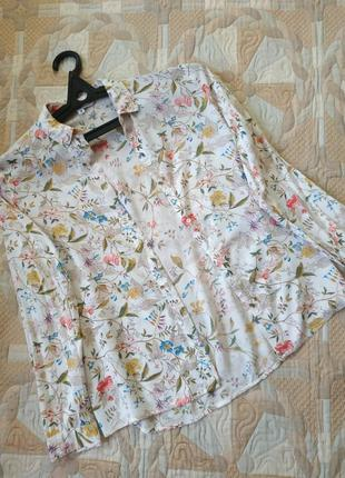 Блуза рубашка легкая