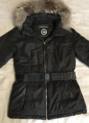 Napapijri куртка женская, коричневая куртка