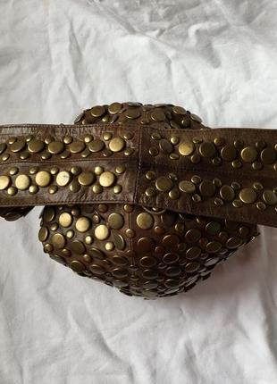 Сумка коженая  мешок3 фото