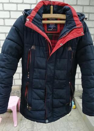 Курточка парка зимняя для мальчика