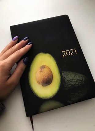 Блокнот , авокадо 🥑 датированный