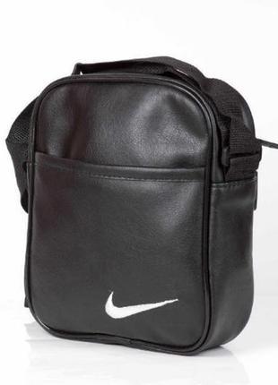 Мужская сумка через плечо ищ pu кожи