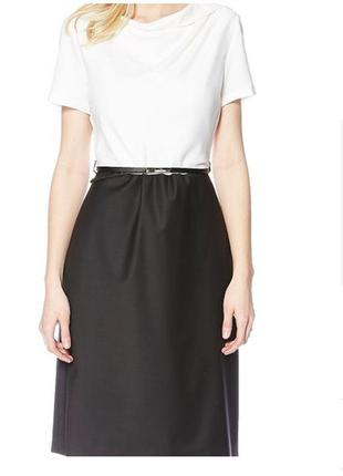 Шикарное базовoе платье фирмы bessini (италия)