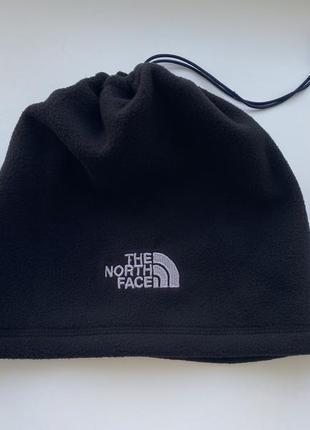 Теплый флисовый снуд шарф шапка the north face