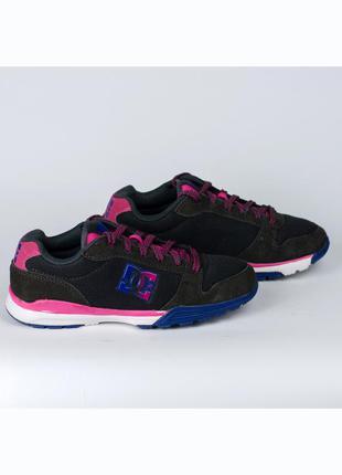 Замшевые кроссовки dc alias lite оригинал сша 36-37р. 23,2 см.