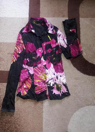 Блуза  женская яркая