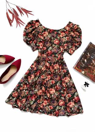 Платье в стиле ретро винтаж