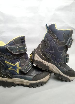 Термовзуття geox amphibiox, черевики, зимові сапоги., gor-tex