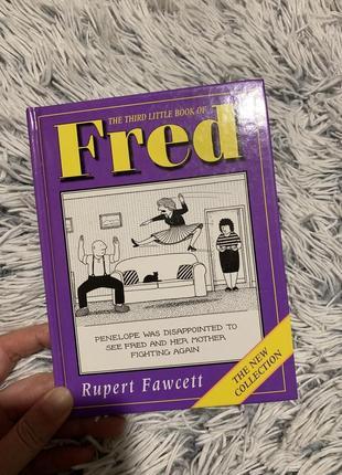 Книга комиксы на английском языке fred автор: rupert fawcett