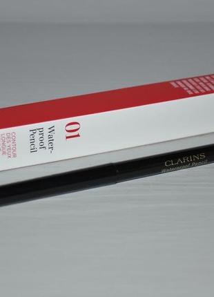 Clarins waterproof pencil автоматический водостойкий карандаш для глаз в товаре
