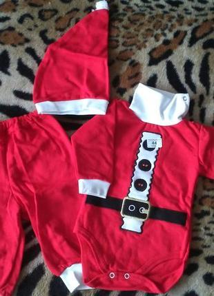 Новогодний костюм для младенцев