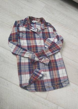 Рубашка в клетку hm