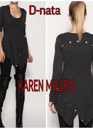 Шерстяное платье туника от karen millen