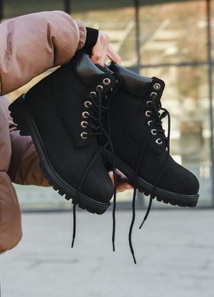 Шикарные женские зимние ботинки топ качество timberland 🥭❄️