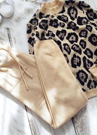 Хитовый леопардовый костюмчик 👌👌👌