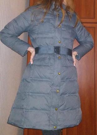 Зимнее пальто (пуховик) пух-перо